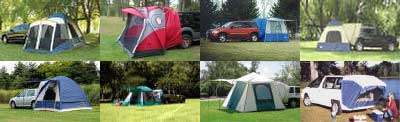 Suv and Mini Van Tent